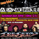 TROMADANCE Presents Alan Merrill Band  Tragedy: All Metal Tribute to the Bee Gees and Beyond