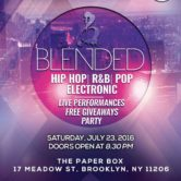 Blended Tours: Live Concert and Backyard Party