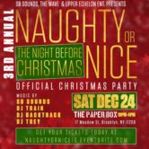 3rd Annual Naughty or Nice: The Night Before Christmas