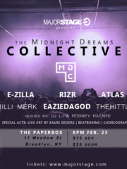 MajorStage presents Midnight Dreams Collective
