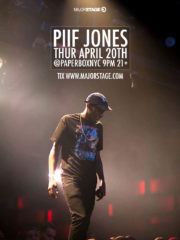 MajorStage Presents Piif Jones Live
