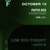 BEMF Presents: Low End Theory