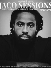 MajorStage presents Eric Penn (Jaco Sessions Release Concert)