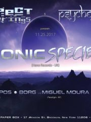 Respect Gatherings & Psycheground Present Sonic Species Live