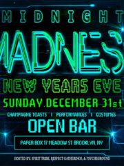 Midnight Madness 2018 – NYE Party