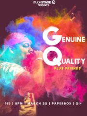 MajorStage presents Genuine Quality + more