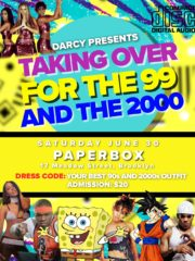 Takin Over For The 99 and 2000s Kick Off To  Summer 90s Party