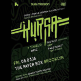 Good Friday 001: Kursa at The Paper Box