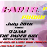 EARTH presents PHUCK A CLUB SERIES