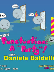 "Treetops: Punctuation, A ""Party""! with Daniele Baldelli"