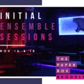 Initial Ensemble Sessions