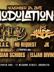 Modulation² – Goldie + DJ Hype