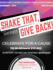 Shake That, Give Back!