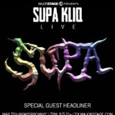 MajorStage Presents: SUPA KLIQ Live @ The PaperBox