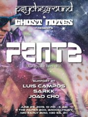 Psycheground and Ghost Notes presents: Penta!