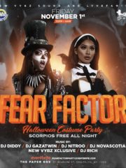 Fear Factor. Halloween Costume Party