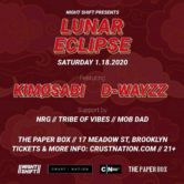 Night Shift & Crust Nation Presents: Lunar Eclipse