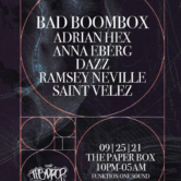 The Drop BK: Bad Boombox @ The Paper Box